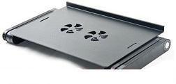 Маса за лаптоп - алуминиева + охлаждане